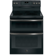 """GE 30"""" Free-Standing Electric Double Oven Convection Range"""