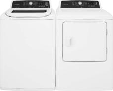 Frigidaire White Laundry Set