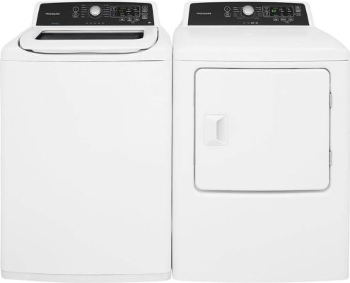 Frigidaire White Laundry Set