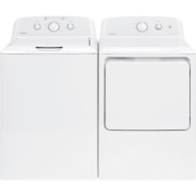 Hotpoint 3.8 cu. ft. Washer & 6.2 cu. ft. Electric Dryer