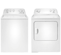 Whirlpool 3.5 Cu. Ft. Top Load Washer & 7.0 Cu. Ft. Electric Dryer Set