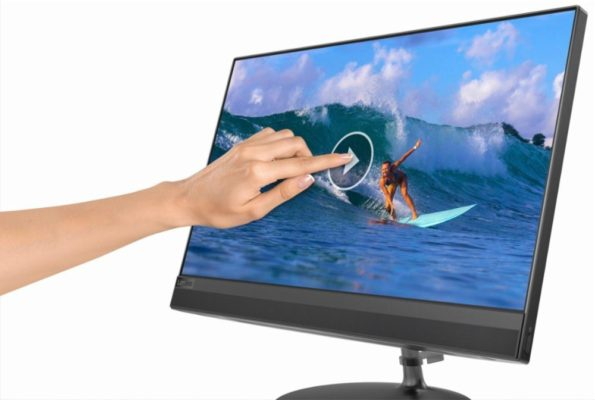 """Lenovo - 520-22IKU - 21.5"""" Touch-Screen All-In-One - 8GB Memory"""