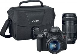 Canon EOS Rebel T6 DSLR Camera with 2 Lenses