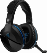 Turtle Beach - Stealth 700 Wireless DTS 7.1 Surround Sound Gaming Headset for PlayStation 4 and PlayStation 4 Pro - Black/Blue