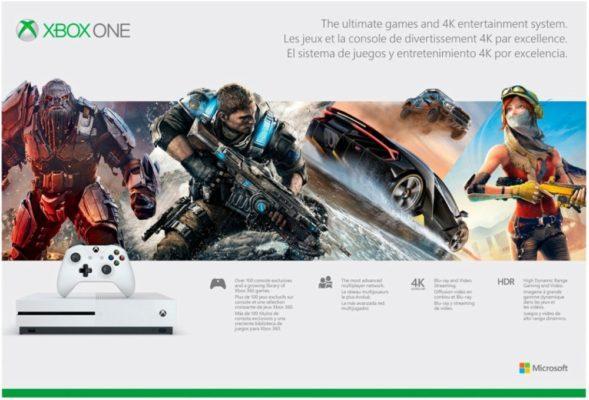 Microsoft Xbox One S 500GB Console