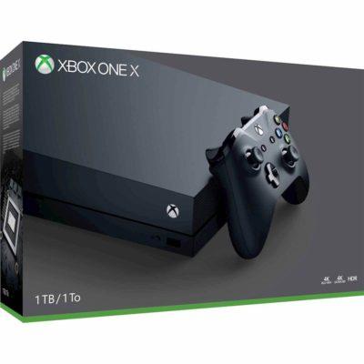 Microsoft Xbox One X 1TB Console w/4K Ultra Blu-Ray