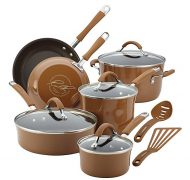 Rachel Ray Cucina Hard Porcelain Enamel Nonstick Cookware 12 pc. Set