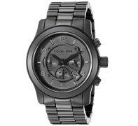 Michael Kors Men's Black Chronograph Sport Watch