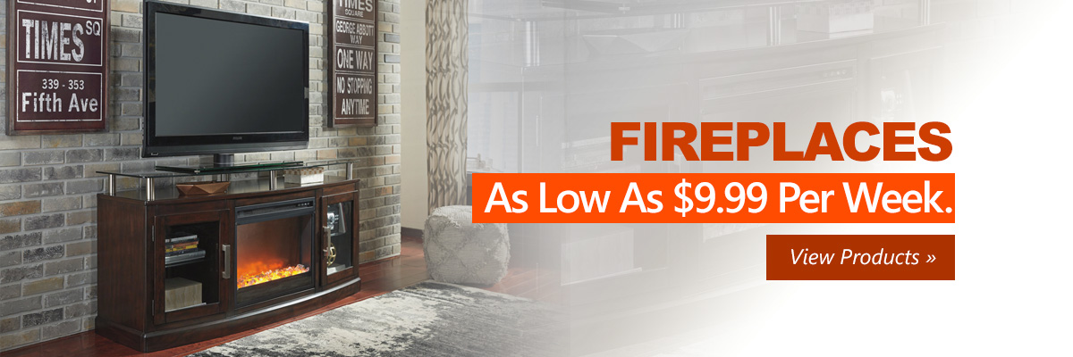 Fireplaces Rent to Own