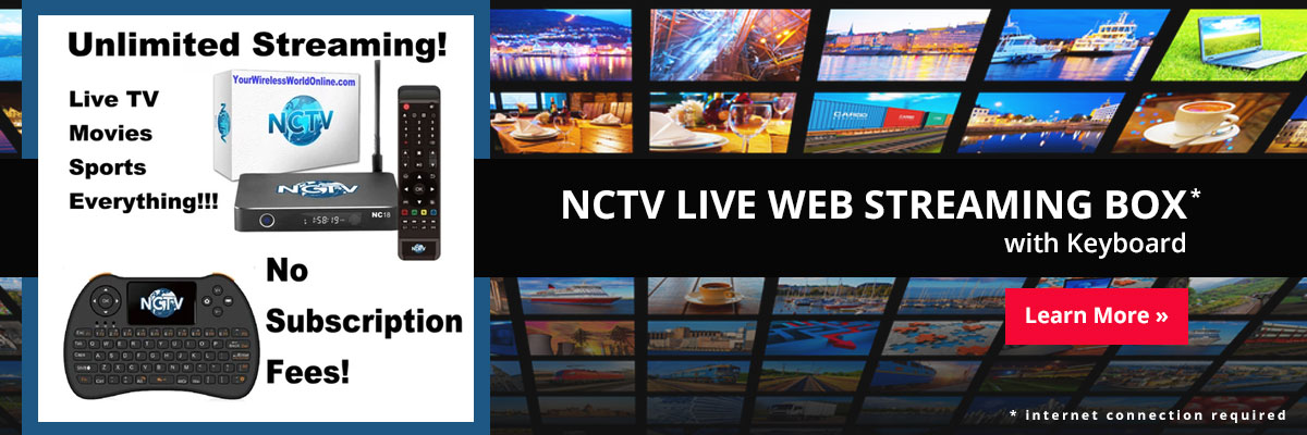 NCTV Unlimited Web Streaming Box