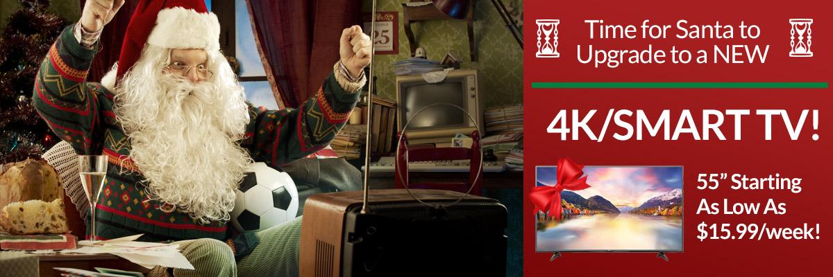 4K TV's for Christmas